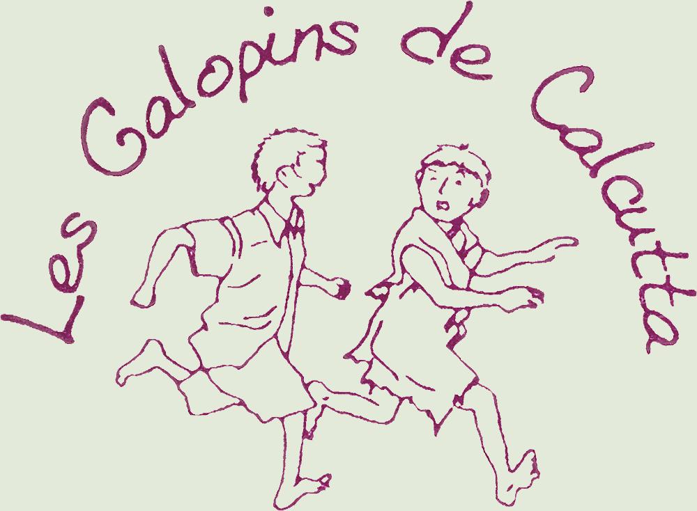 Le premier logo des Galopins de Calcutta