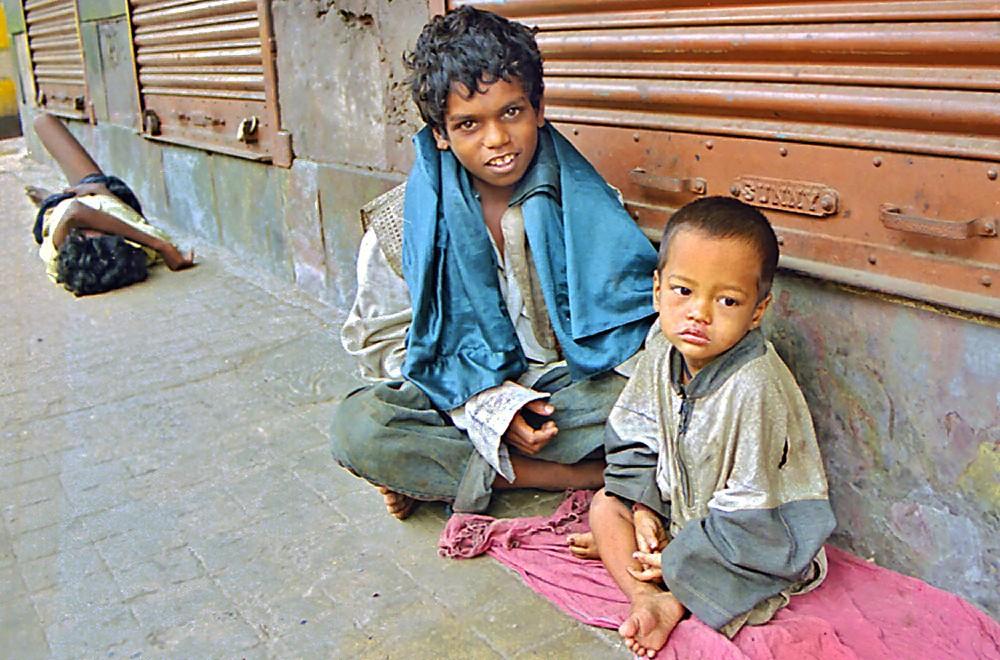 Rahul avec Rajokumar en juillet 1999 à Sudder Street
