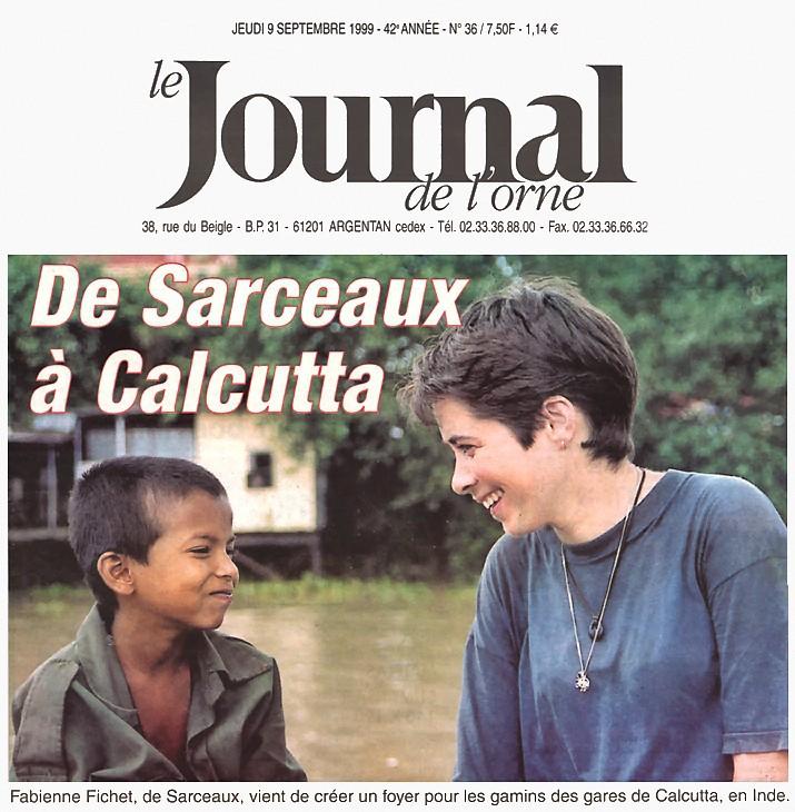 Une du Journal de l'Orne du 9 septembre 1999
