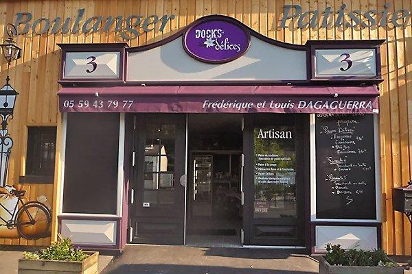 Boulangerie-pâtisserie Dock Délices à Biarritz