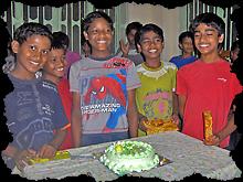 Cinq Galopins pour un gâteau