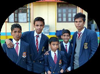 Akash I, Abhishek, Akash II, Biswajit Jr, Mintu