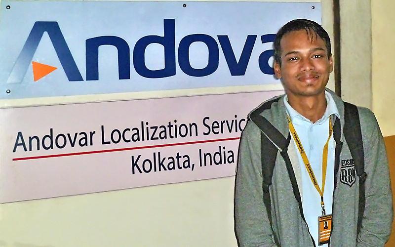 Rahul embauché chez Andovar
