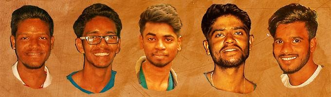 Prasenjit, Subhajit, Biki, Pratap et Syed