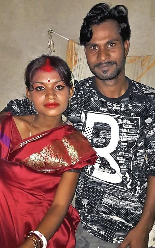 Dipankar et Megha, sa femme