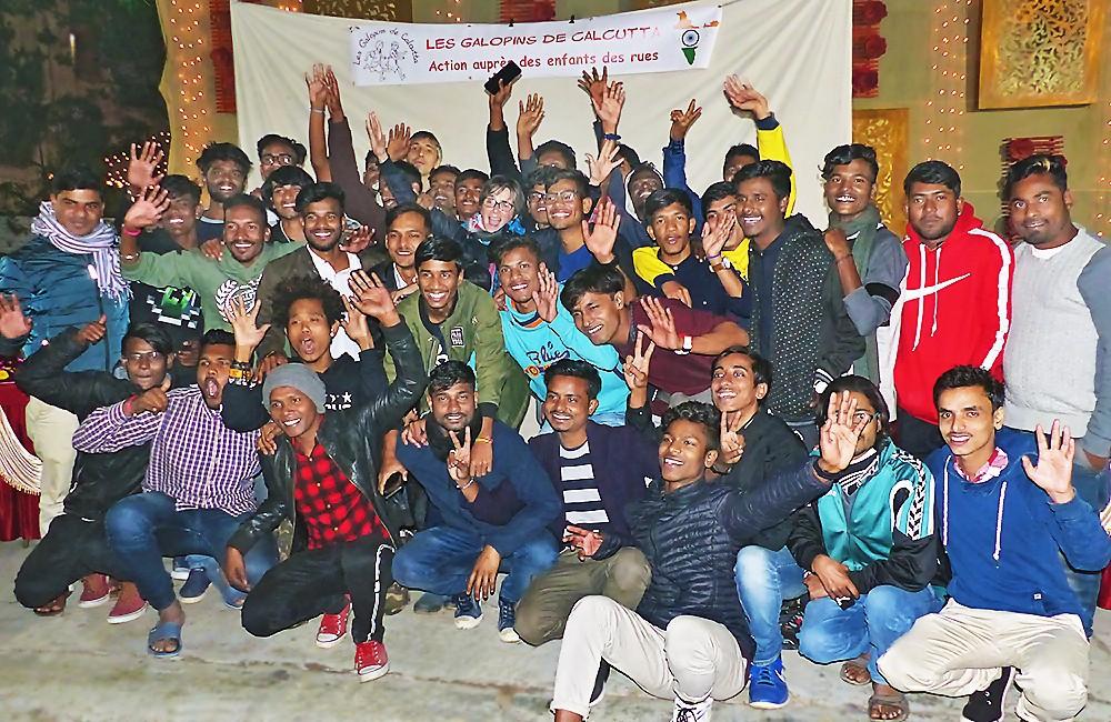 Les Galopins célèbrent les 20 ans de l'association à Calcutta