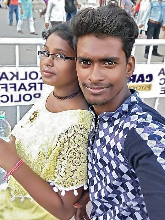 Vashkar avec sa femme, Pimkie