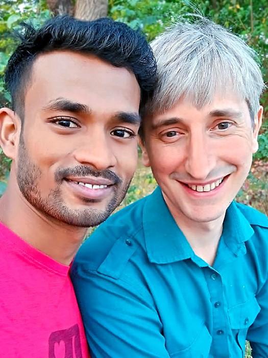 Sanjit et Florent, filleul et parrain