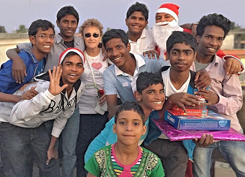 Une joyeuse équipe pour fêter Noël !