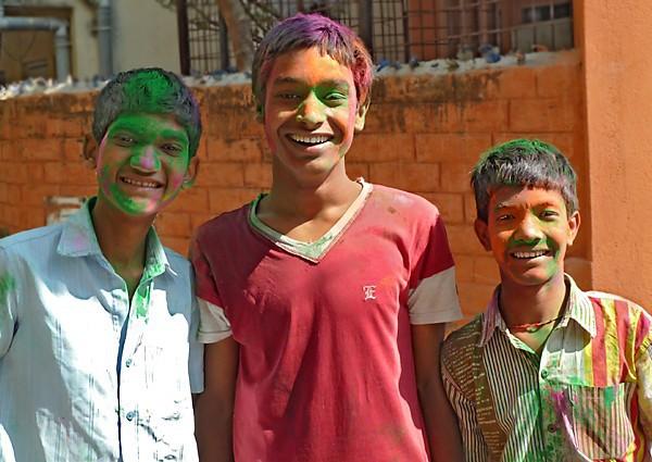 Biswajit, Mongal et Debashis