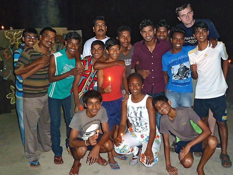 Les galopins fêtent Diwali