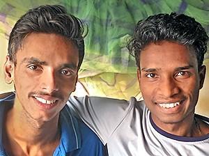Abhishek et Raja