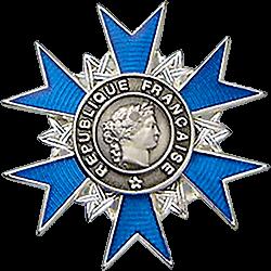 Médaille de Chevalier de l'Ordre national du Mérite