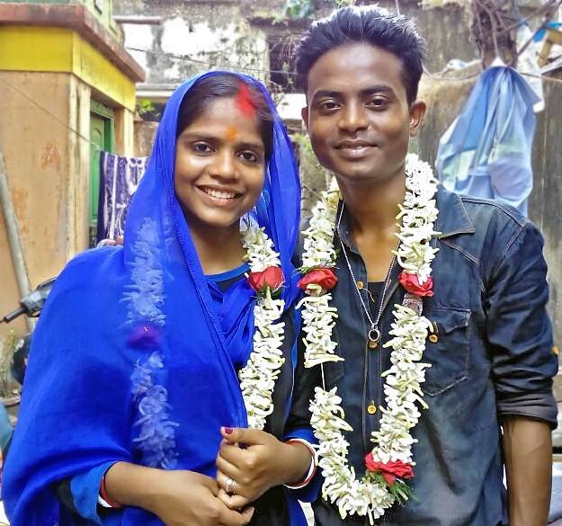 Hasna et Govindha mariés