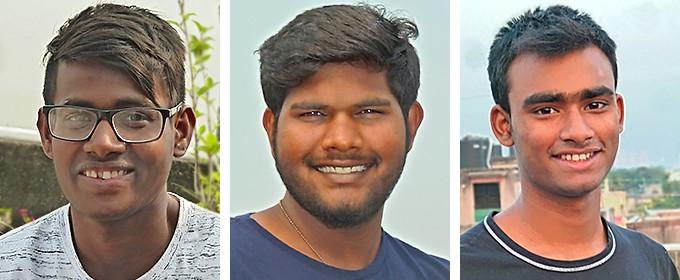 Rafiq, Sourav et Monzoor