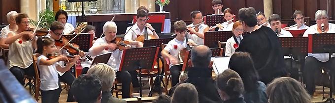 Le concert de l'Orchestre Jubilate