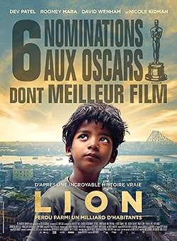 Affiche du film 'Lion' de Garth Davis