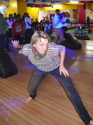 Laurence au bowling