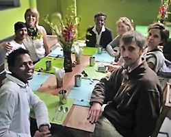 Au restaurant de LP4Y