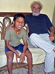 Shamim et son parrain