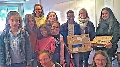 Dons du collège La Neustrie à Nantes