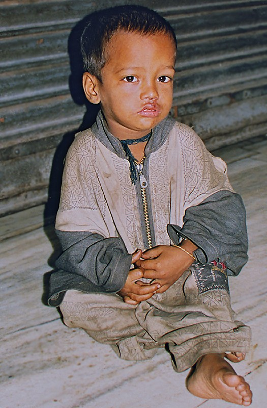 Rahul en 1999 dans les rues de Kolkata