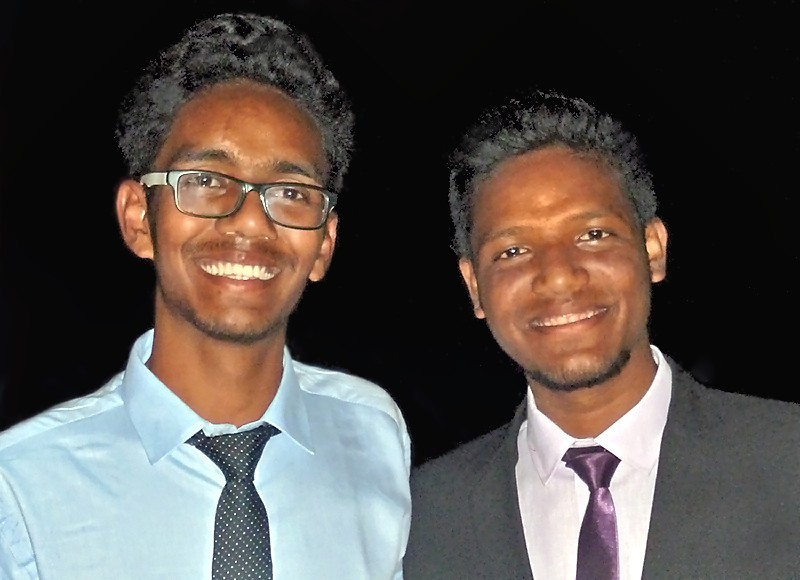 Subhajit et Prasenjit